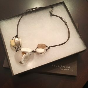 "Silpada necklace N2201. 17""+2""extender"